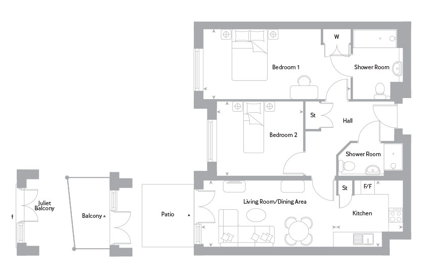 The Glyn floor plan